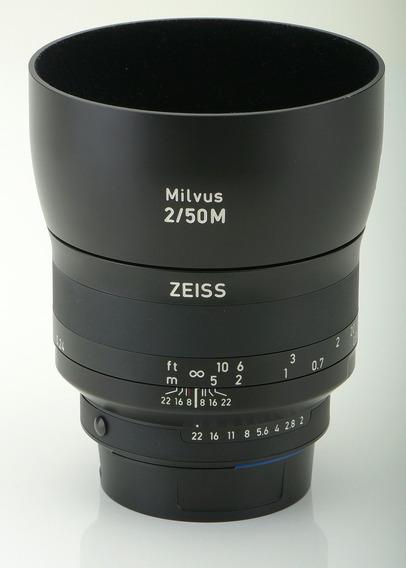 Zeiss Milvus 2/50m F/2 Para Nikon - Impecável!!!