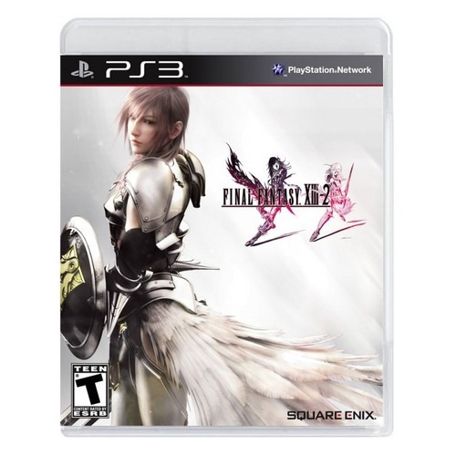 Final Fantasy Xiii-2 Black Label Ps3 Lacrado Square Rpg