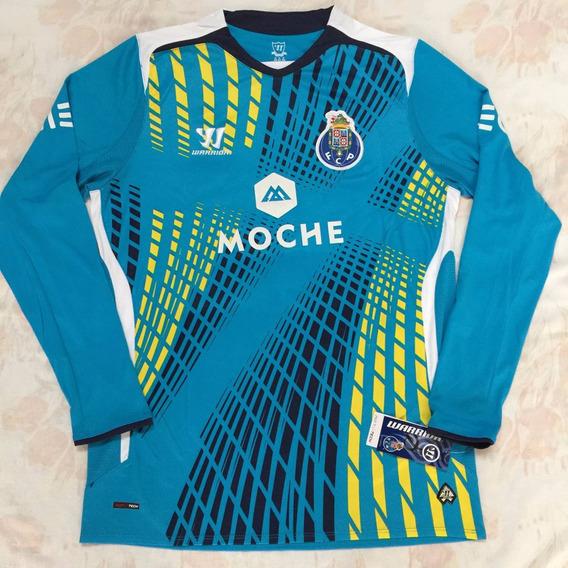 Camisa Goleiro Warrior Porto 14/15 M Azul Original Fn1608