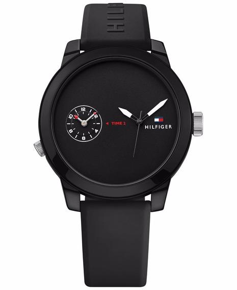 Reloj Tommy Hilfriger Hombre Denim 1791326 Envio Gratis Garantia Oficial