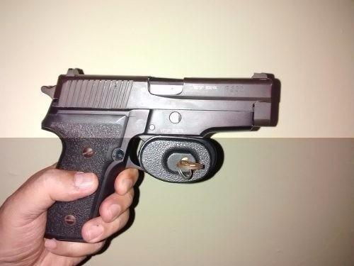 Candado De Gatillo Para Pistola Y/o Rifle Con Llave