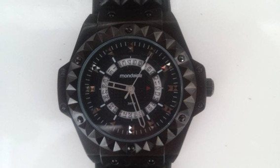 Relógio Mondaine Masculino Analogico Pulseira De Couro