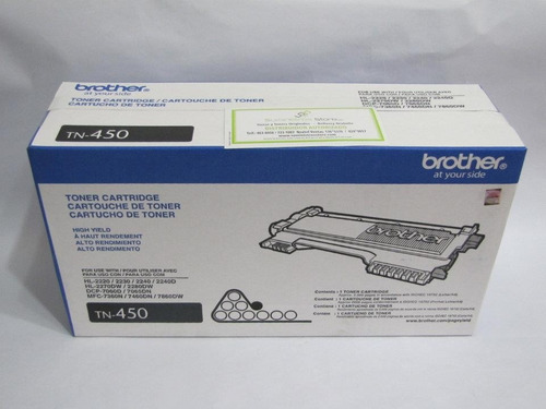 Nuevo Toner Brother Tn-450 Hl: 2220 / 2230 / 2240 / 2270