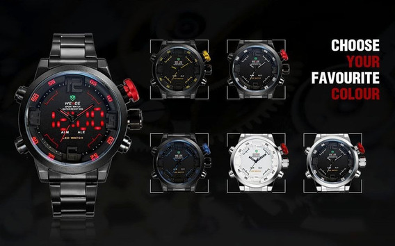 Reloj Deportivo Weide Analogo Digital Sport Watch Original