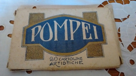 Antiguas Postales De Pompeya