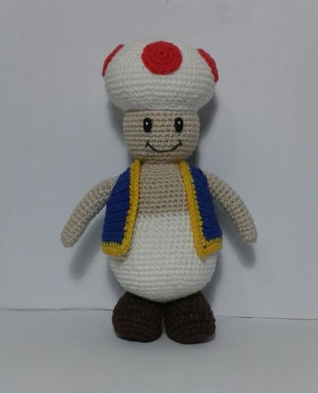 Boneco (amigurumi) Do Toad De Croche