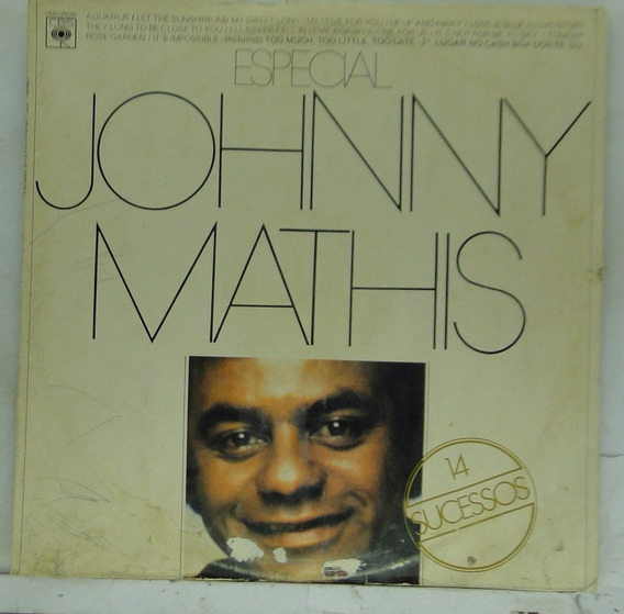 Lp Johnny Mathis - Especial - 14 Sucessos - Je082