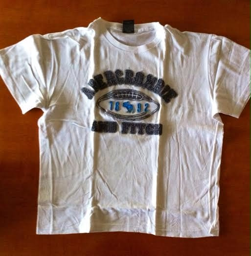 Leer Bien!!!! Abercrombie And Fitch Remera 1892 Talle L Niño