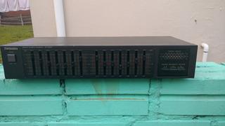 Equalizador Technics Sh-8028 100% Funcional