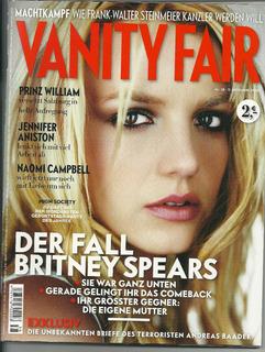 Vanity Fair Alemanha Britney Spears