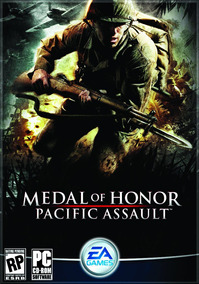 Game Pc Medal Of Honor Pacific Assault - 4 Cd-rom