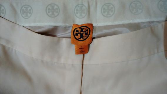 Tory Burch Pantalón Para Dama Talla 12 R.