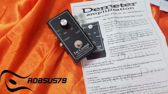 Pedal Demeter Mb-2b Midboost / Fat Control - Boost / Booster