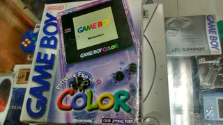 Game Boy Color Edicion Atomic Purple
