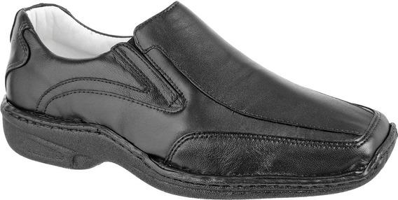 Sapato Anti Stress Pele Carneiro Confort Indicado Diábeticos