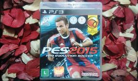 Pro Evolution Soccer 2015 - Pes 15 Br Ps3 Frete Cr R$ 11,98