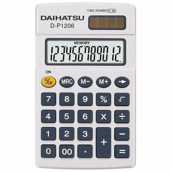 Calculadora Daihatsu D-p1206 8 Digitos De Bolsillo (16045)