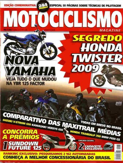 Motociclismo 128 * Ybr 125 Factor * Twister * V-strom 650
