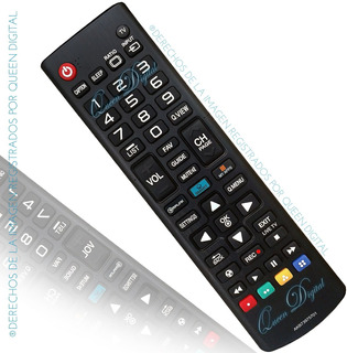 Control Remoto Para LG Smart Tv Led Lcd Akb73975701 Lb5800