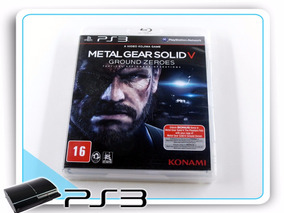 Ps3 Metal Gear Solid 5 Ground Zeroes Original Playstation 3