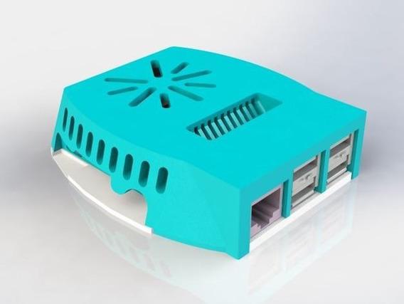 Gabinete Case Raspberry Pi Impresion 3d