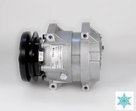 Compressor Ar Condicionado Maquina Escavadeira Hyundai Novo