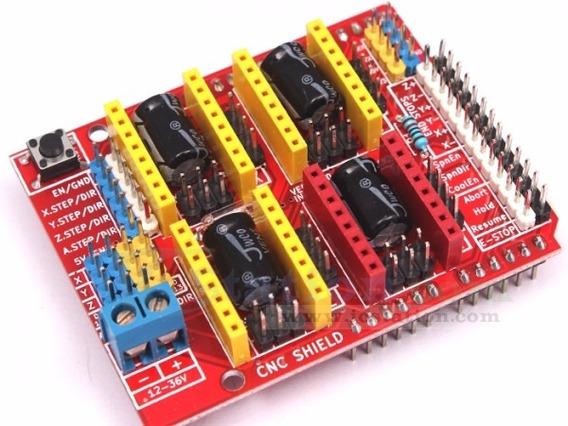 Cnc Shield V.3 Impressora 3d Para Arduino Pronta Entrega