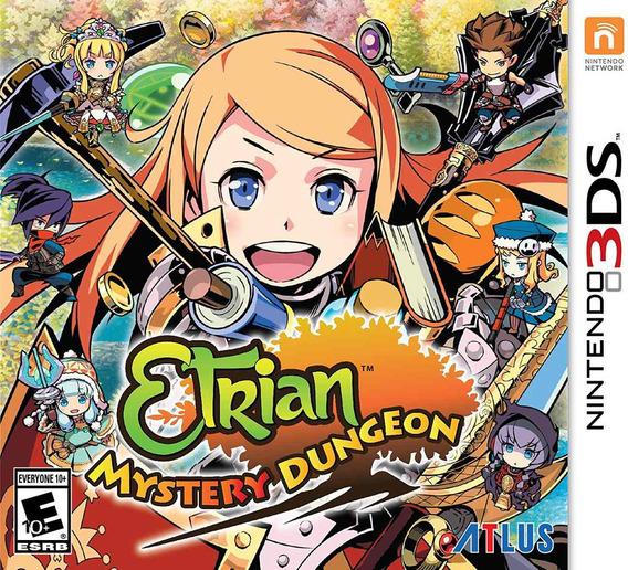 Etrian Mystery Dungeon - 3ds - Lacrado - Original - Nf