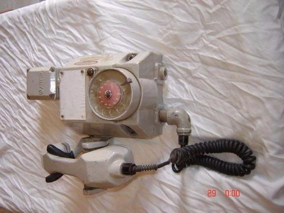 Antigo Telefone De Plataforma De Petroleo