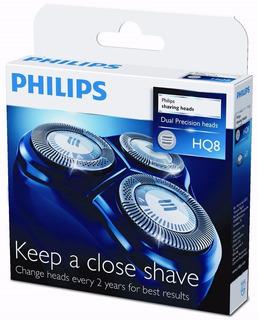 Lâminas De Reposição Hq8 Para Barbeador Philips Original Nf