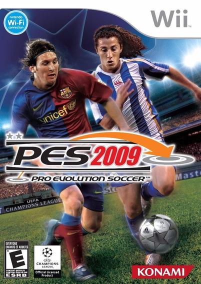 Pro Evolution Soccer - Pes 2009 (wii) Usado - Original