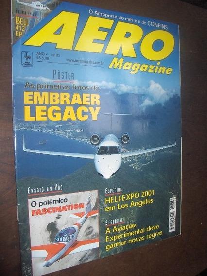Embraer Legacy Aero Magazine Com Poster Central