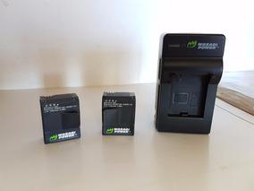 Carregador De Parede Com 2 Baterias Para Gopro 2