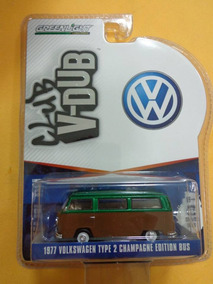 Greenlight V-dub-vw Type 2 Champagne Ed. Bus Green Machine