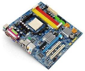 Kit Am2+ Gigabyte Ga-ma69vm-s2 C/ Processador Atlhon X2