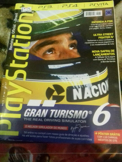 Revista Playstation N186 + 2 Poster