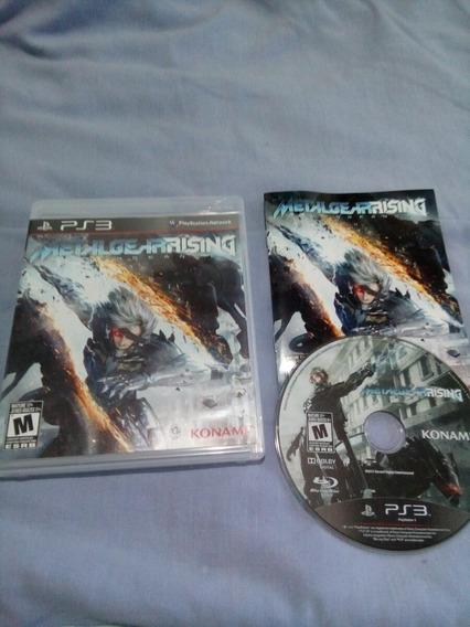 Metal Gear Rising Reveagance Ptbr Ps3+filme Grátis