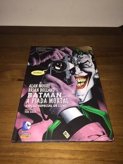 Hq Batman A Piada Mortal Dc Panini
