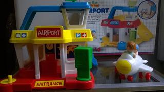 Aeropuerto Blue Box- Juguetes Devoto