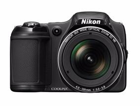 Câmera Coolpix L820 Nikon ,6 Meses De Uso Com Tripe Bosch