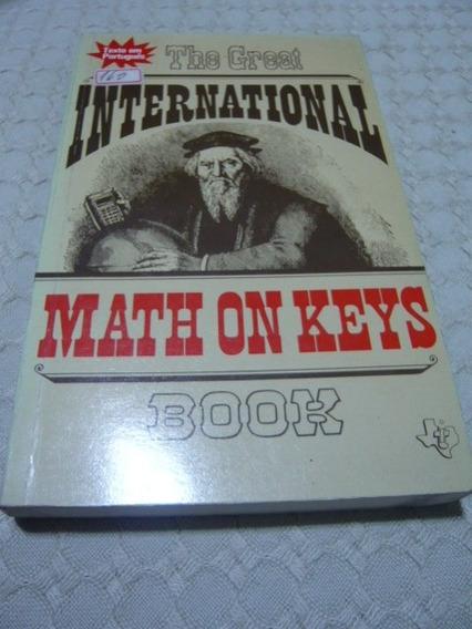 The Great International Math On Keys Book Matemática Teclado