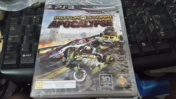 Motor Storm Apocalypse Ps3 Playstation 3 Jogo Mídia Física