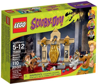 Lego 75900 Scooby Doo El Misterio De La Momia Del Museo!!