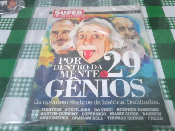 Revista Super Interessante Gênios Ed N°304a Maio/2012