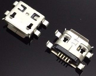Conector Carga Power Tablet Micro Usb Qbex Tx340 Kit 3 Un