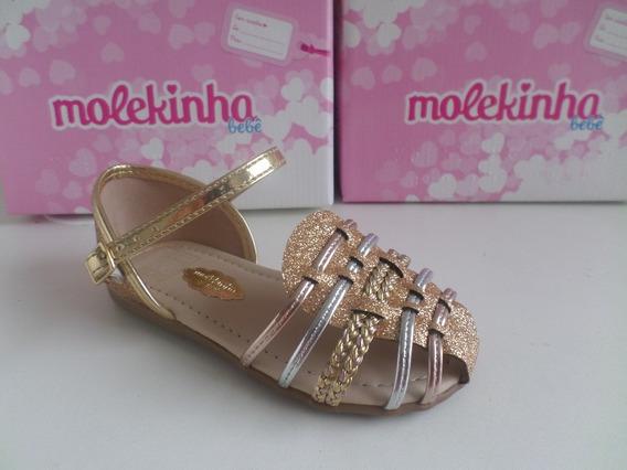 Sandália Infantil Feminina Ref-2114.114 Molekinha