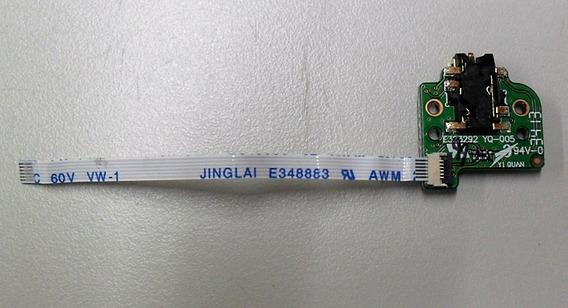 Conector Sub Placa Fone P2 Tablet Positivo Mini Quard-core