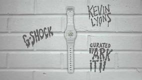 Casio G-shock Ed L T D A Kevin Lyon Gb5600b Blue Tooth D V C