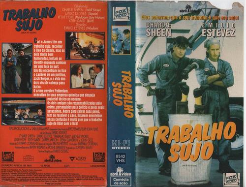 Trabalho Sujo - Emilio Estevez - Charlie Sheen - Raro | Mercado Livre