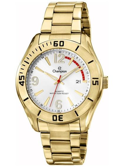 Relógio Masculino Champion Dourado Ca30105h